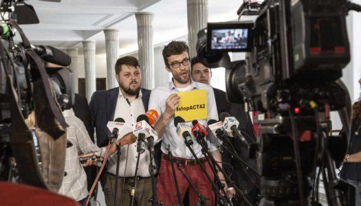 #stopACTA 2 – konferencja prasowa w Sejmie