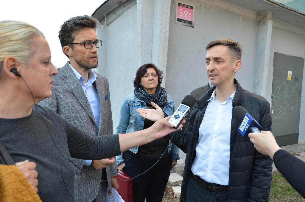 Rafał Górski Mikołaj Siwiński wybory Łódź