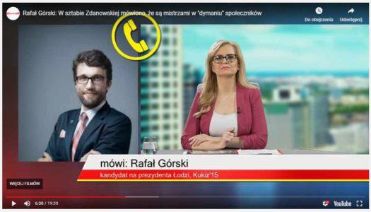 Komentuję wybory w Łodzi